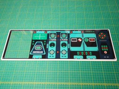 Radarscope control panel plexi