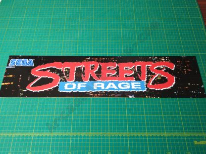 streets of rage marquee