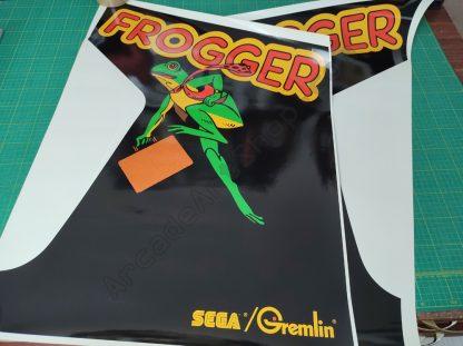 frogger side art