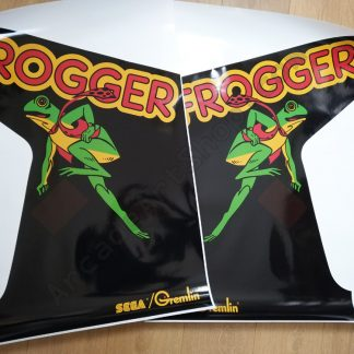Frogger side art pair