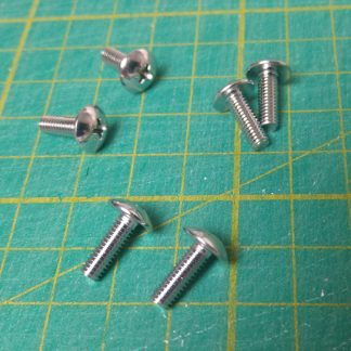 m4x12 chrome screw set