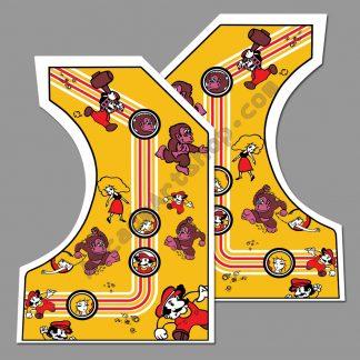 ENV German Donkey Kong side art pair