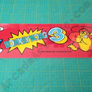 donkey kong 3 plexi marquee