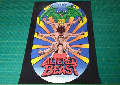 Altered Beast poster