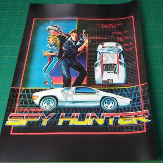 Spy Hunter poster