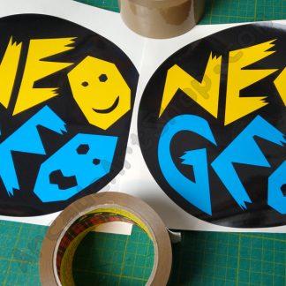 snk neo SC19-4 side art logos