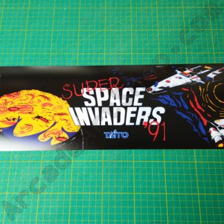 super space invaders 91 marquee