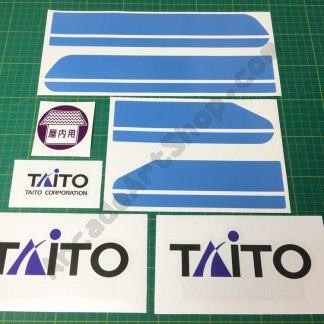 Taito Canary decal set blue