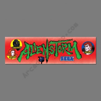 Alien Storm UK/Euro marquee