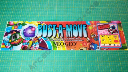Bust-a-Move (Puzzle Bobble) marquee