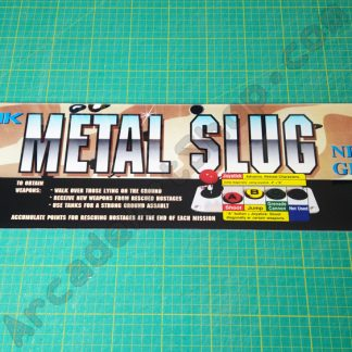 Metal Slug full size marquee
