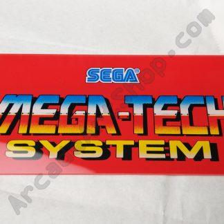 Sega Megatech marquee