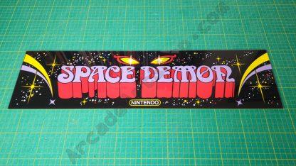 space demon perspex plexi marquee nintendo