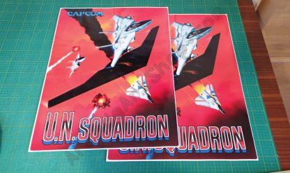 UN Squadron side art
