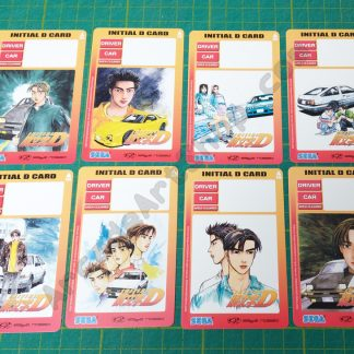 Initial-D 8 pack of save cards