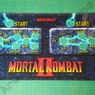 mortal kombat 2 control panel perspex