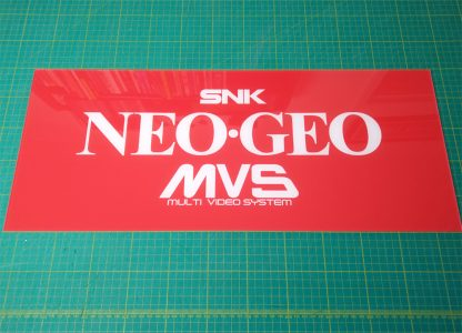 neo geo mvs red tall marquee