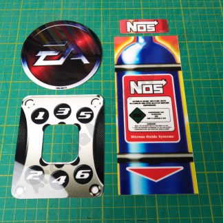 need for speed carbon small decals set