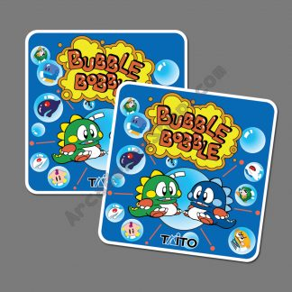bubble bobble side art pair