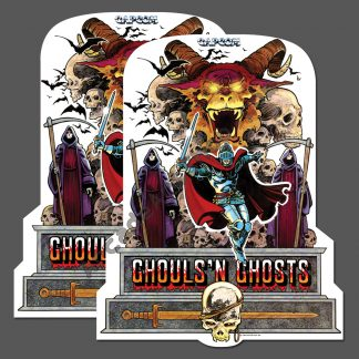 ghouls n ghosts side art