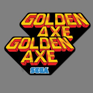 Golden Axe side art upper