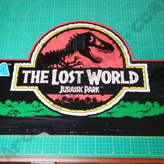 original sega jurassic park lost world marquee
