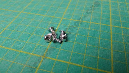 m3x6mm chrome screws