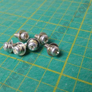 m4x12mm pan head screw with washer