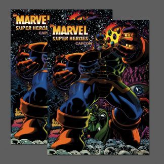 marvel super heroes side art pair