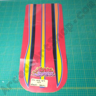 nos original alpine surfer board top decal