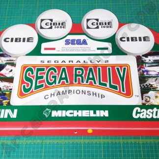 nos original sega rally 2 topper SRT-9004UK