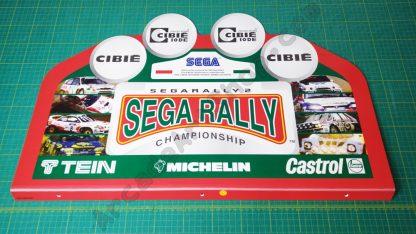nos original sega rally 2 topper SRT-9004UK