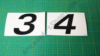 nos original sega rally seat numbers