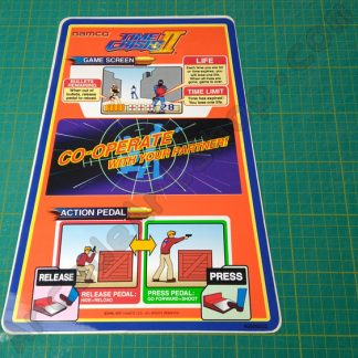 nos original time crisis 2 instruction decal