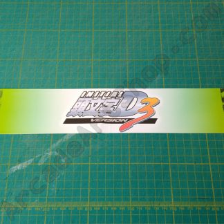 nos original initial-d 3 base lid decal