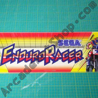 original sega enduro racer perspex marquee