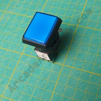 Sega square blue push button