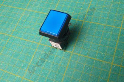 Sega square blue push button