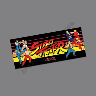 street fighter 1 marquee
