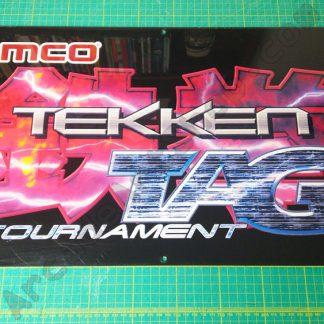 Tekken Tag Tournament original perspex marquee