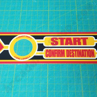 crazy taxi start decal CTA-2007UK