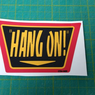 crazy taxi hang on decal CTA-1405