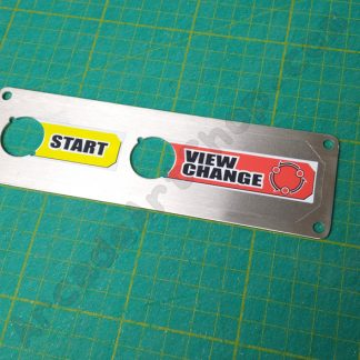 outrun 2 view change start panel w/decal