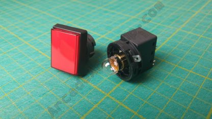 red recangle pushbutton sega