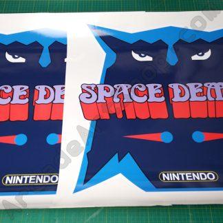 space demon side art pair