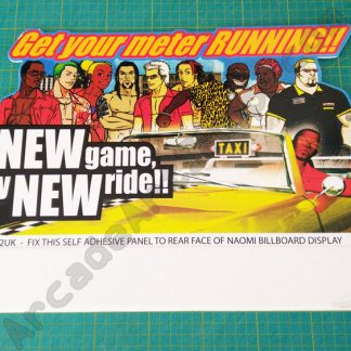 crazy taxi high roller partial topper kit