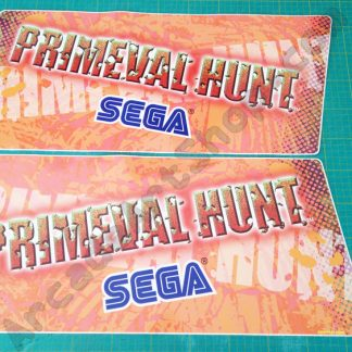 primeval hunt monitor side stickers pair nos