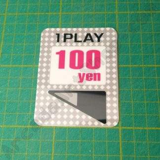 egret II 1 play 100 yen sticker