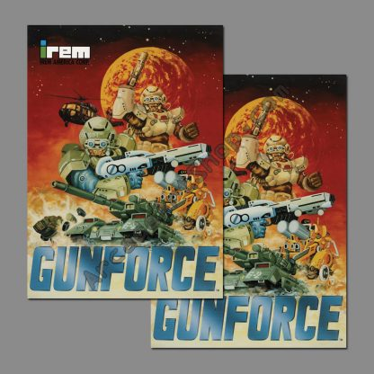 gunforce side art pair