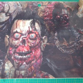 house of the dead 4 nos door decal